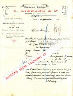 """Lettre 1915 - EUGIES (par FRAMERIES) - A. LIENARD & Cie - """"Imprimerie De La Croix Noire"""" - - Non Classés"""