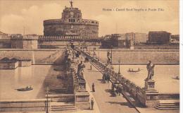 Italy Roma Rome Castel San Angelo e Ponte Elio