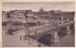 Italy Roma Rome Ponte Vittorio Emanuele II 1912
