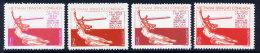 NORTH VIETNAM 1974 40th Anniversary Of People's Republic Of Poland Set Of 4 MNH / (*).  SC. 778-81 - Vietnam