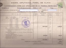 Doc, Con Sello Contribucion Mobiliaria Nº 1 - Documentos Antiguos