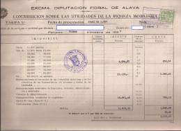 Doc, Con Sello Contribucion Mobiliaria Nº 2 - Documentos Antiguos