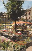 22210 Agde Perle Noire Place Jean Jaures Jour Marché Fleurs -16.483 SL - Bar La Galiote Crédit Lyonnais - Agde