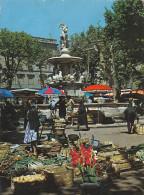 22211 Carcassonne Marché Place Carnot 18.654 Ed De France - Carcassonne