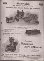 Documento Con Gráficos, Materiales Y Máquinas De Apisonar - España