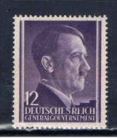 DR Generalgouvernement 1941 Mi 75 Hitler - Occupation 1938-45