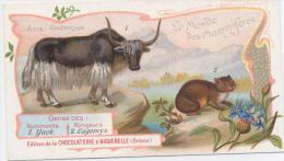 AIGUEBELLE  Le Monde Des Mammiferes  YACK Et LAGOMYS - Aiguebelle