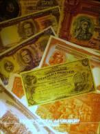 ® Los Billetes De Los Bancos Oficiales Del Uruguay (1896-1989) ***FREE SHIPPING*** - Uruguay