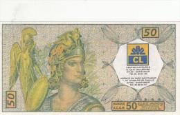 Billet De 50 écus Emis Par Credit Lyonnais St Maur-billet Neuf - Fiktive & Specimen