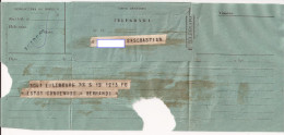 3T - Telegrama Nº 4 - Documentos Antiguos