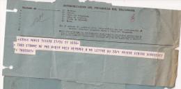 3T - Telegrama Nº 5 - Documentos Antiguos