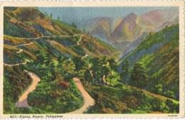 7001. Postal BAGUIO (Filipinas) Carretera Zig Zag - Filipinas