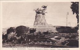 MENDOZA - Panorama , Monunmento Al Ejercito Libertador , Argentina , 1910-30s - Argentina