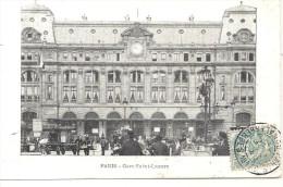 CPA 75 Paris La Gare Saint Lazare - Métro Parisien, Gares