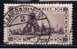 DR Saargebiet 1926 Mi 117 Förderanlage - Saar