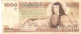 BILLETE DE MEXICO DE 1000 PESOS DEL AÑO 1983 (BANKNOTE) - México