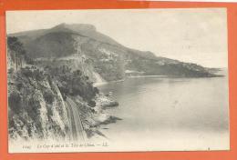 V084, Le Cap D'Ail Et La Tête De Chien, 1193, Circulée 1908 - Cap-d'Ail
