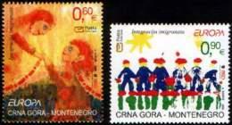 Montenegro 2006 Europa CEPT, Set MNH - Montenegro