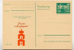 DDR P79-17a-80 C115-a Postkarte PRIVATER ZUDRUCK Musikfestspiele Dresden 1980 - Musica