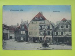 WISSEMBOURG, Weissenburg, FRANCE, Germany #3690# - Wissembourg
