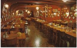 Portland OR Oregon, Wachsmuth Oyster Bar Restaurant Interior View, C1960s Vintage Postcard - Portland