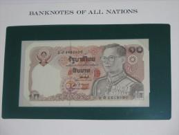 10 Baht - THAILANDE   - Billet Neuf - UNC  !!! **** ACHAT IMMEDIAT *** - Tailandia