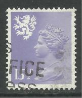 SCOTLAND GB 1982 15 1/2p Pale Violet Machin SG S41.. ( R982 ) - Regional Issues