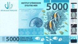 Nouvelle Calédonie - 5000 FCFP - 2014 / Signatures Noyer-de Seze-La Cognata - Neuf  / Jamais Circulé - Nouméa (Nuova Caledonia 1873-1985)