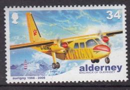 Alderny Mi 339 MNH Britten Norman BN-2 Islander - Aerei