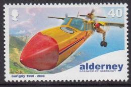 Alderny Mi 340 MNH Britten Norman BN-2A Trislander - Aerei