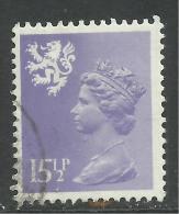 SCOTLAND GB 1982 15 1/2p Pale Violet Machin SG S41.. ( R984 ) - Regional Issues