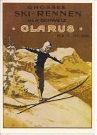 8950 - Grosses Ski-Rennen Der Schweiz Glarus 1905  (Reproduction D´Affiche) - GL Glarus