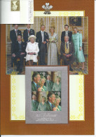 Hrh Prince Charles And Camilla Parker Bowles Blok + 1 Seperate Stamp Mnh - Blocks & Kleinbögen