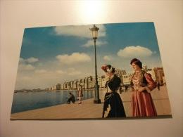 Costumi Coppia Donne Thessaloniki Quai  Grecia - Costumi