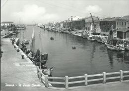 PESARO-IL PORTO CANALE-VIAGGIATA-ANIMATA- - Pesaro
