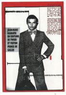 CPM Publicitaire,Renoma A 50 Ans, Jean Marc Magniatis En Costume De Tweed Et Prince De Galles - Moda