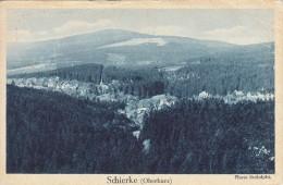 Schierke Am Brocken Der Alpine Luftkurort Des Harzes Werbung Karte - Schierke