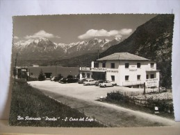 Belluno - S. Croce Del Lago - Bar Ristorante Prealpi - Pasticceria - Auto Epoca  -  2 Scans. - Belluno