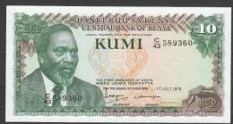 KENYA.  : 10 Schillings - 1978 - FDS - Kenya