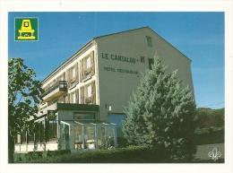"""Cp, Commerce, Hôtel """"LE Cantalou -  Saint-Hyppolyte (63) Chatel Guyon - Restaurants"""