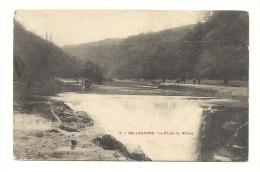 Cp, 01, Bellegarde, La Chute Du Rhône, Voyagée 1906 - Bellegarde-sur-Valserine