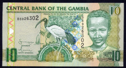 GAMBIA : 10 Delasis  - 2005 - UNC - Gambia