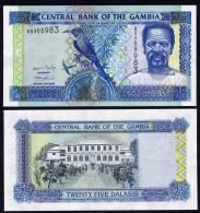 GAMBIA : Banconota 25 Delasis  - 2005 - FDS - Gambia
