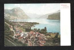 Ansichtskarten  Schweiz   SG St. Gallen   -- WEESEN - SG St. Gall
