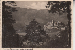 BÖHMEN & MÄHREN - AUSSIG / USTI NAD LABEM, Burgruine Schreckenstein, 1943 - Sudeten