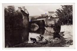 Cpsm Mende (48) Pont De Notre Dame De Peyrenc ( Animée , Lavandieres ) Cpsm48 - Mende