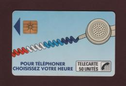 Télécarte De 50.unités - Pour Téléphoner, Choisissez Votre Heure. - 2 Scannes. - Francia