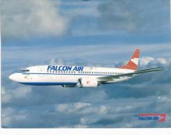 Thème - Avion - Falcon Air Boeing 737 300 QC - 1946-....: Moderne