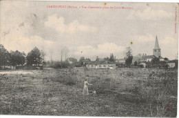 Carte Postale Ancienne De LARZICOURT - France