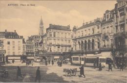 Antwerpen   Meir Plaats Plein Tram                  Scan 6105 - Antwerpen